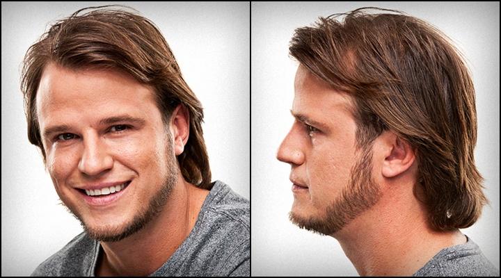 Как сделать прическу на бороде