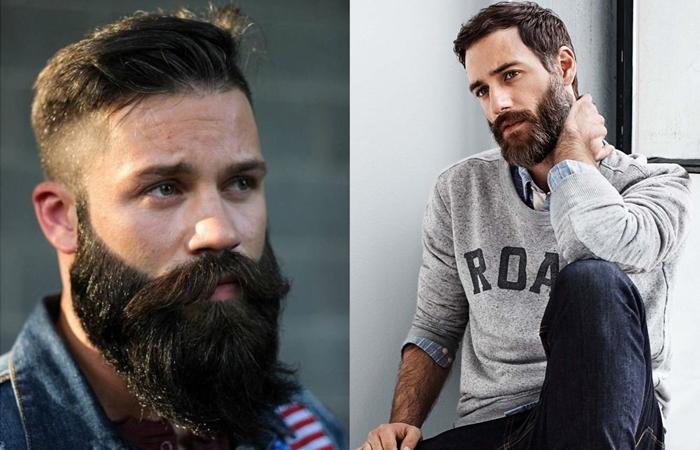 Как красиво сделать бороду фото