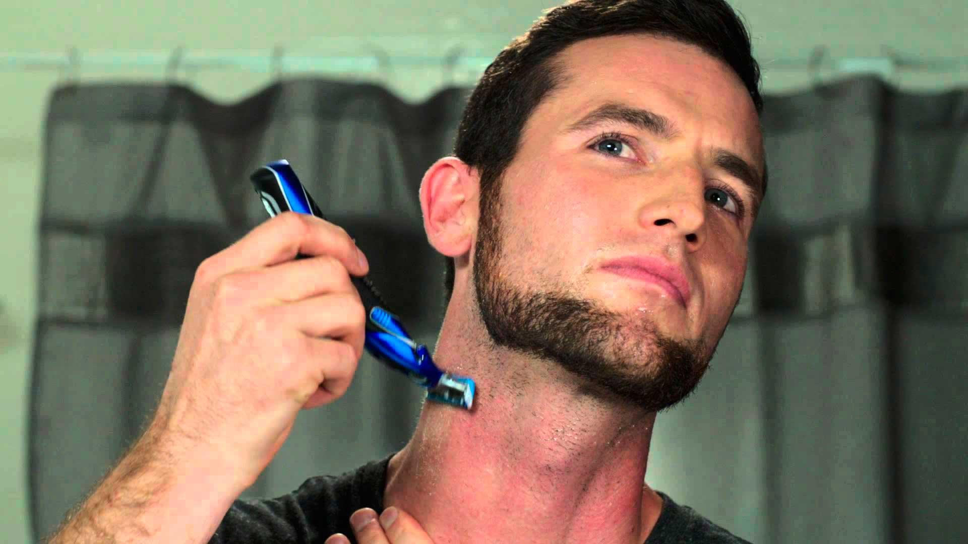 Как сделать бороду и усы фото 376