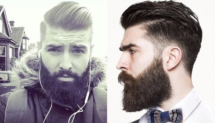полная борода